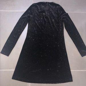 Zara sparkling dress size S
